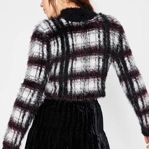 CURRENT MOOD Playin Tricks Fuzzy Sweater